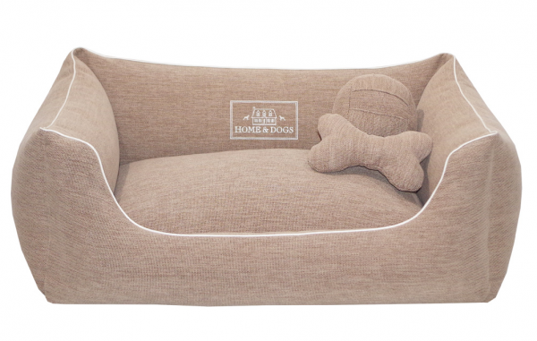 Home & Dogs - Hundebett Classic Luxury Beige
