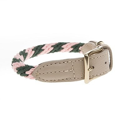 Mungo & Maud - Rock Candy Dog Collar Flamingo
