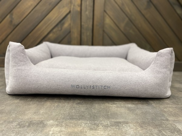 "Molly & Stitch - Hundebett ""Sweet Dreams"" Grey"